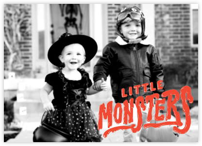 Little Monsters - Paperless Post - Halloween cards