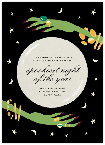 Crystal Ball - Paperless Post - Halloween invitations