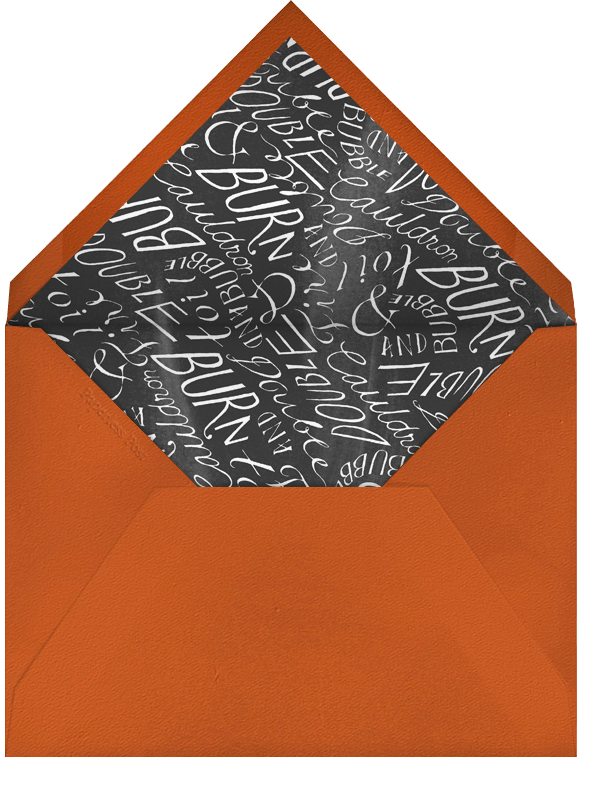 What's Your Poison - Paperless Post - Halloween - envelope back