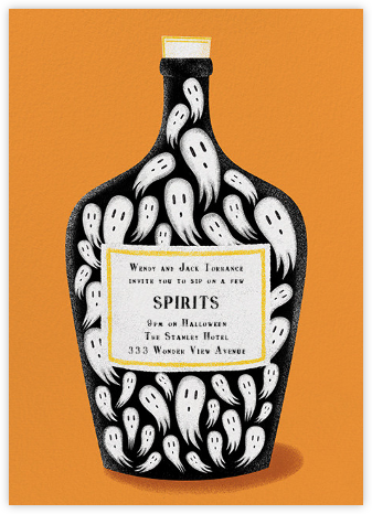 Spirits of the Dead - Paperless Post - Halloween invitations