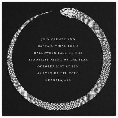 Ouroboros - Paperless Post - Halloween invitations
