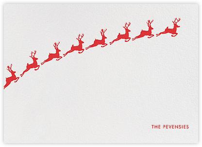 Santa's Prancers - White | horizontal