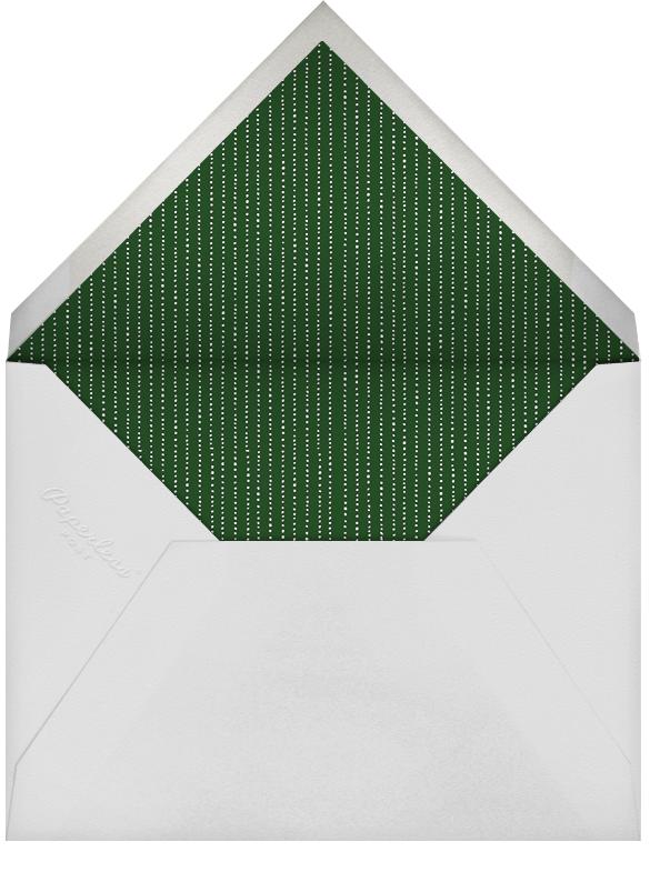 Winter Pine (Horizontal) - Green - Paperless Post - Envelope