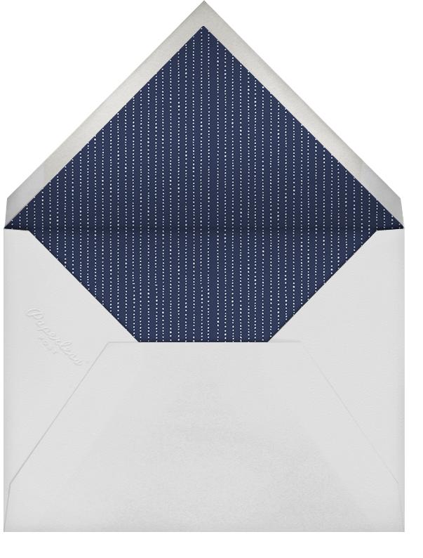 Winter Pine (Horizontal) - Sepia - Paperless Post - Envelope