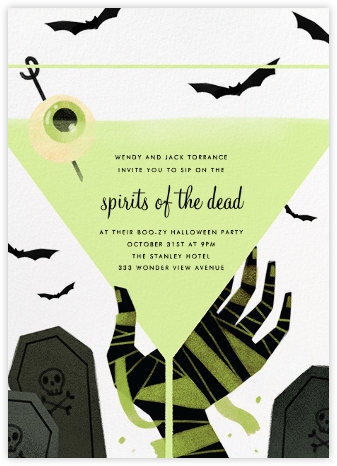 Mummy Needs A Drink - Paperless Post - Invitations