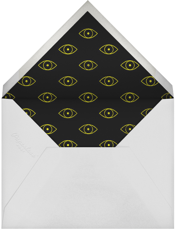 Bloodshot - Paperless Post - Halloween - envelope back