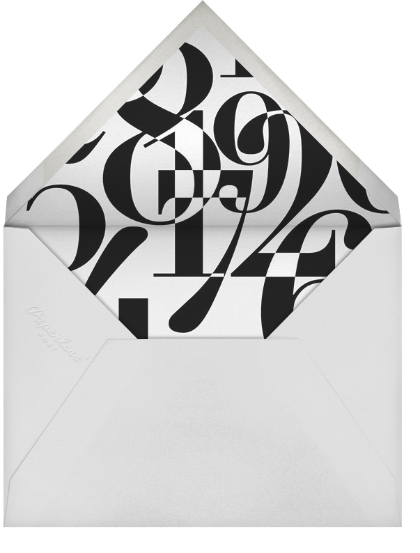 Schoolhouse Countdown - Paperless Post - New Year's Eve - envelope back