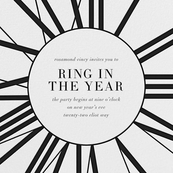 Longcase Clock - Paperless Post - New Year's Eve