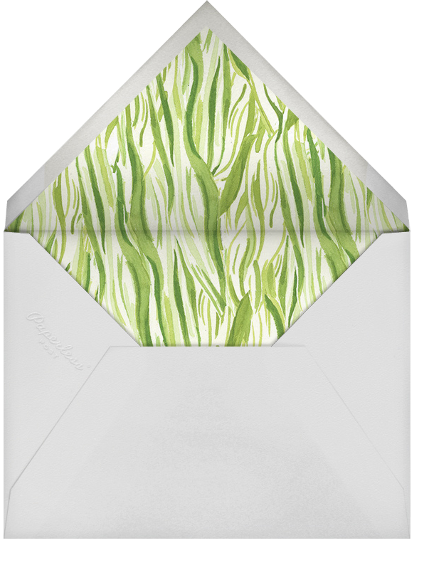 Silk and Husk - Paperless Post - Kwanzaa - envelope back