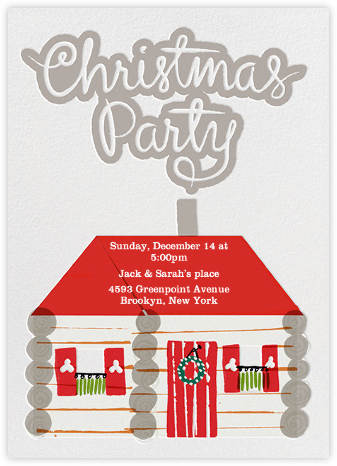 Christmas Party - Crate & Barrel - Invitations