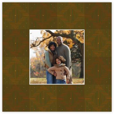 Umoja Photo - Green - Paperless Post - Kwanzaa Cards