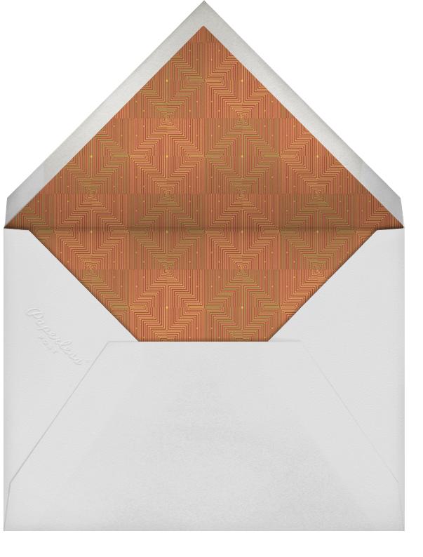 Umoja Photo - Red - Paperless Post - Kwanzaa - envelope back
