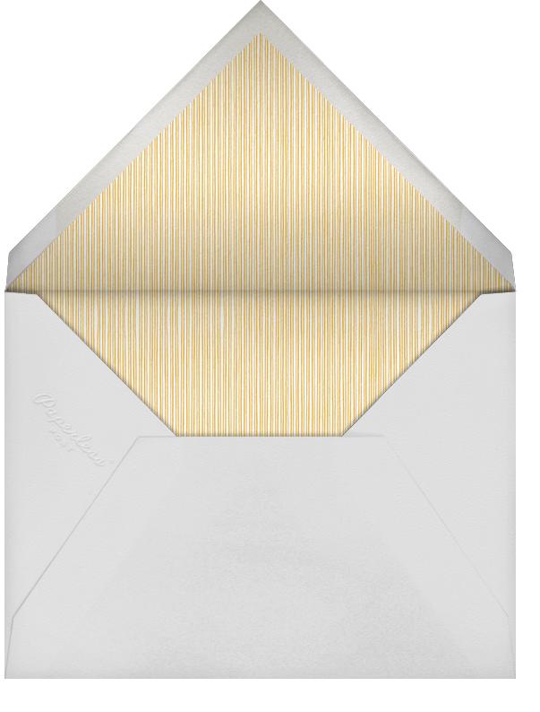 Lanterns - Yellow - Paperless Post - Bridal shower - envelope back