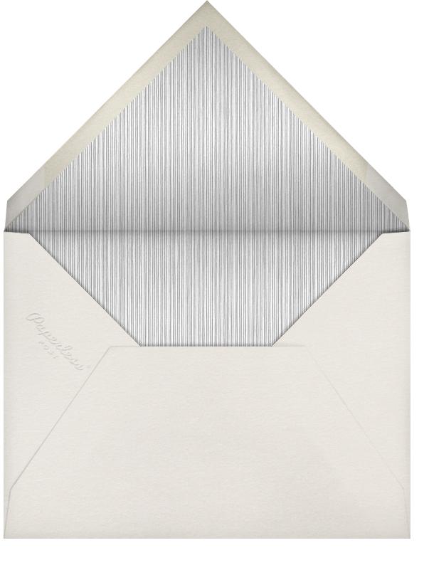 Lanterns - Teal - Paperless Post - Bat and bar mitzvah - envelope back