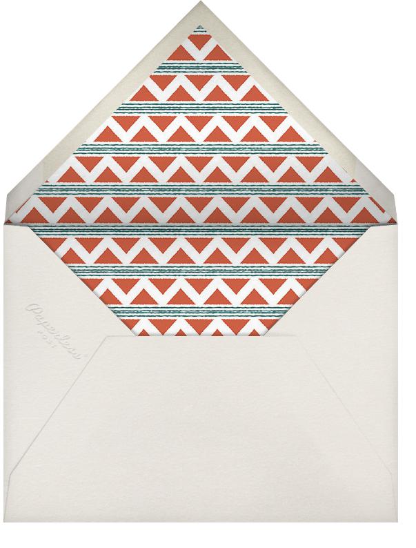 Mudcloth - Paperless Post - Kwanzaa - envelope back
