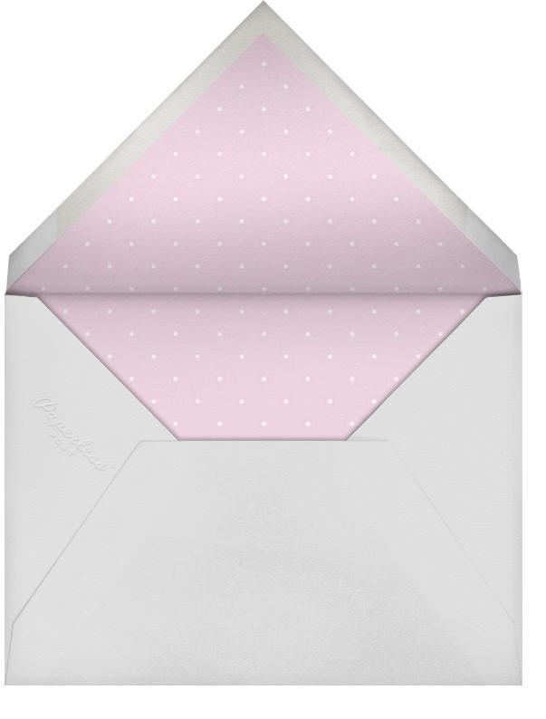 Umbrellas - Pink - Paperless Post - Baby shower - envelope back