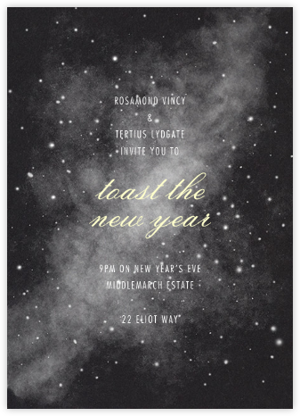 Hubble - Paperless Post - New Year's Eve Invitations
