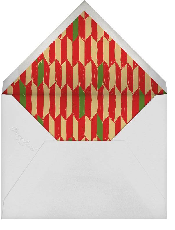 Joyous Feast - Paperless Post - Kwanzaa - envelope back