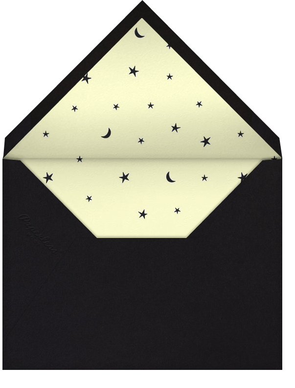 Party Monsters - Paperless Post - Halloween - envelope back