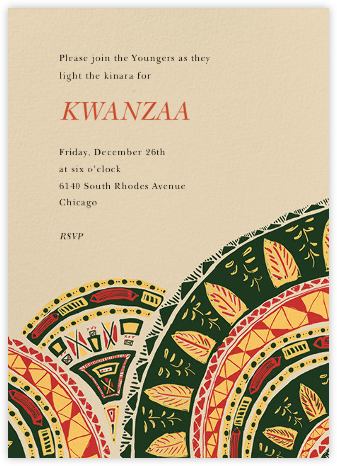 Nia - Paperless Post - Kwanzaa Invitations