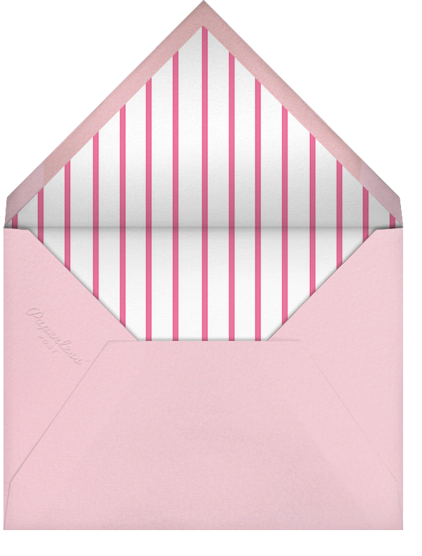 Carnaby - Pink - Paperless Post - Baby shower - envelope back