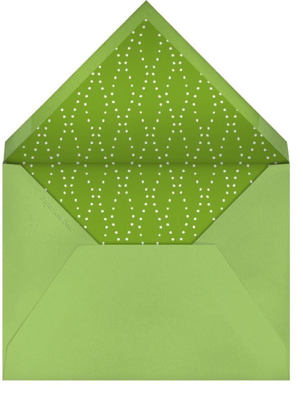Carnaby - Green - Paperless Post - Cocktail party - envelope back