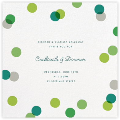 Carnaby - Green - Paperless Post -