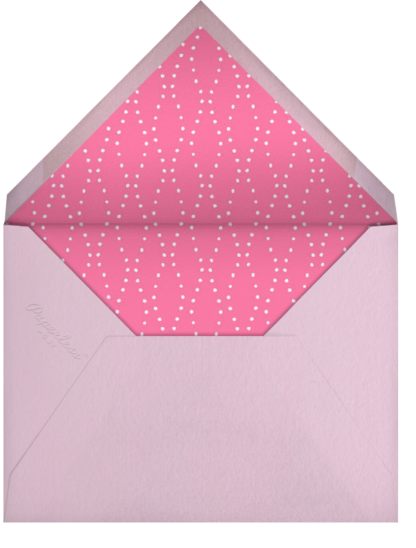 Carnaby - Pink - Paperless Post - Cocktail party - envelope back