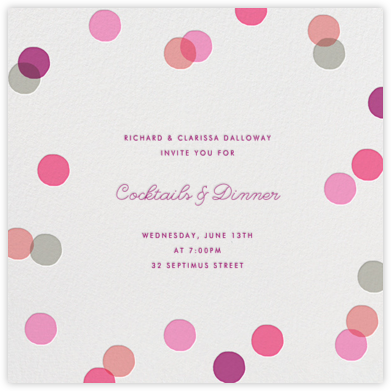 Carnaby - Pink - Paperless Post -