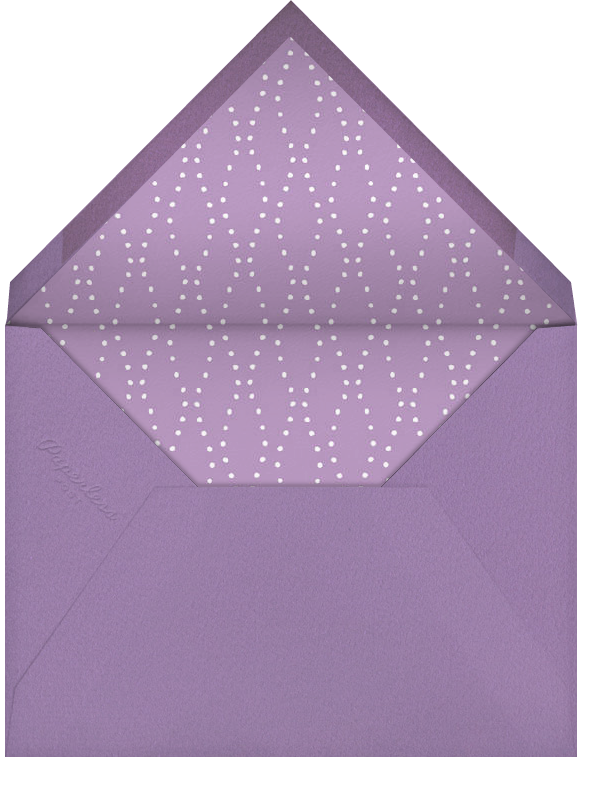 Carnaby - Purple - Paperless Post - Cocktail party - envelope back