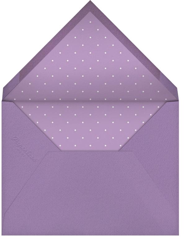 Carnaby - Purple - Paperless Post - Birthday - envelope back