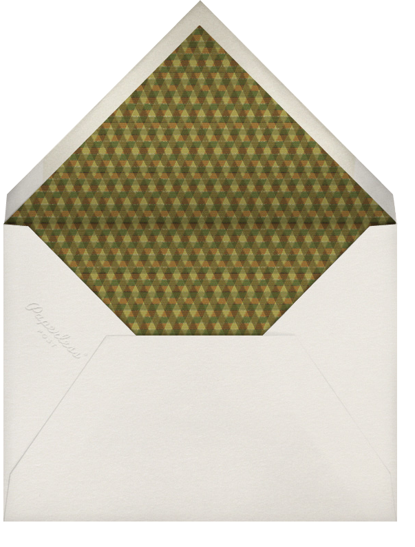 Asoke Loom - Paperless Post - Kwanzaa - envelope back