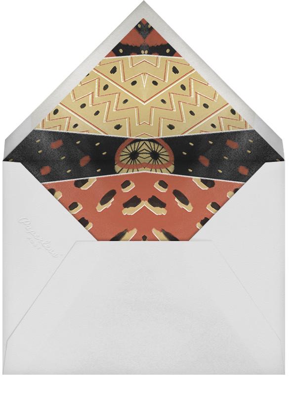 Dashiki Patchwork - Red - Paperless Post - Envelope