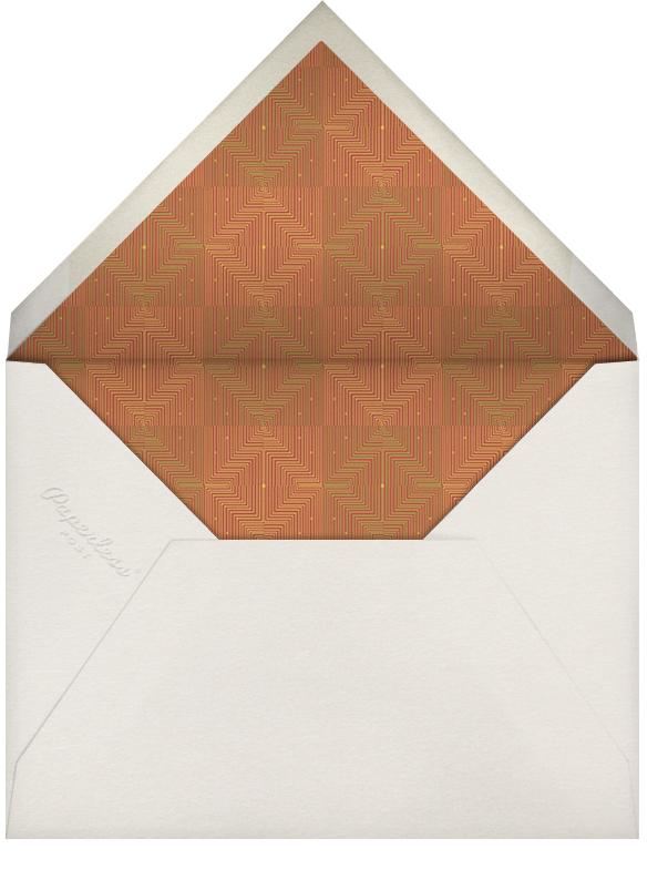 Kinara Wood - Paperless Post - Kwanzaa - envelope back