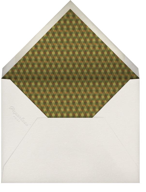 Mbulu Feathers - Green - Paperless Post - Kwanzaa - envelope back