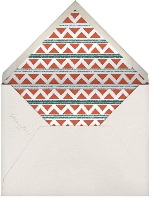 Mudcloth - Paperless Post - Kwanzaa - envelope back