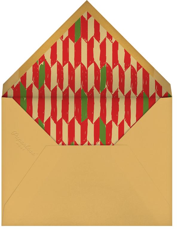 Kente - Paperless Post - Kwanzaa - envelope back