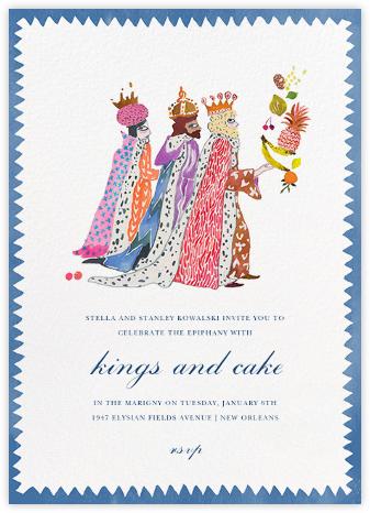 We Three Kings - Happy Menocal - Christmas invitations