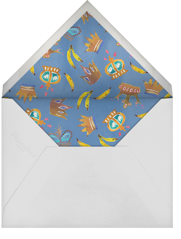 We Three Kings - Happy Menocal - Christmas party - envelope back
