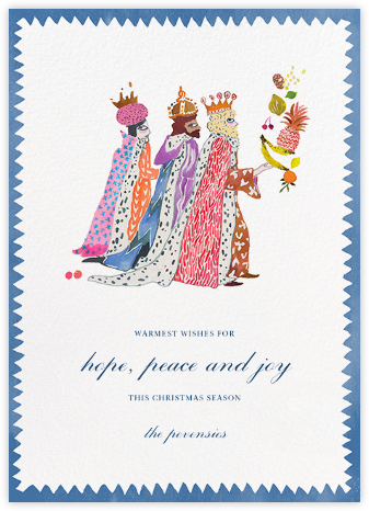 We Three Kings - Happy Menocal - Christmas Cards