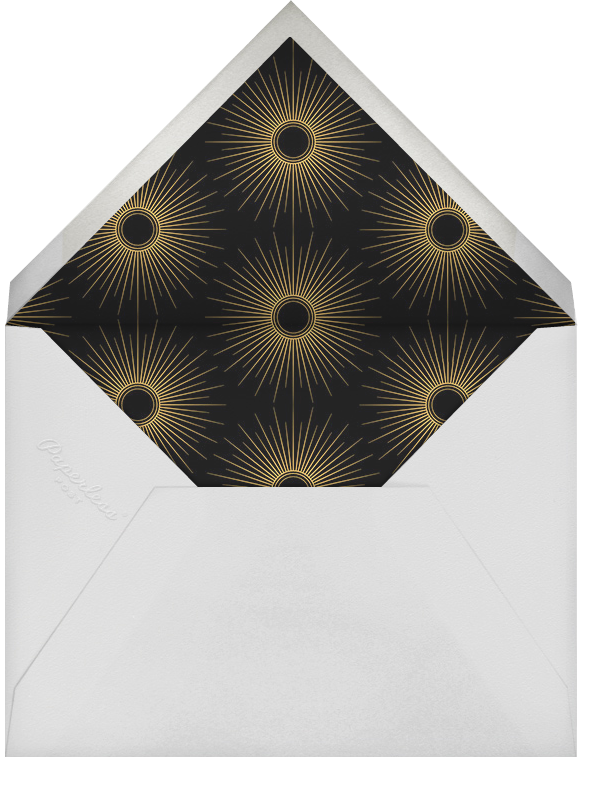 Anuszk - Paperless Post - Winter entertaining - envelope back