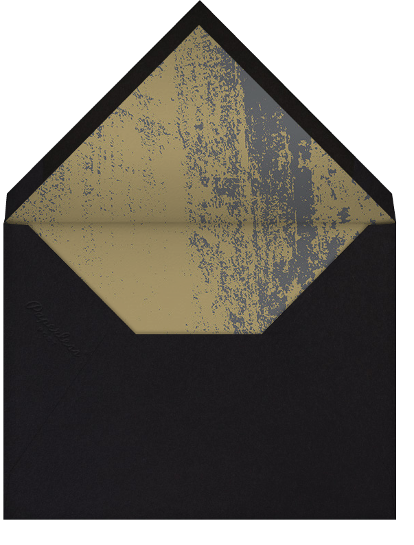 Fetiluxe - Green - Kelly Wearstler - New Year's Eve - envelope back