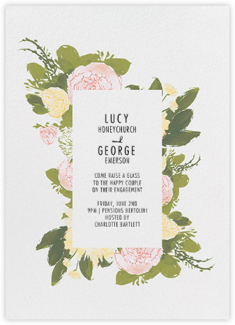 Elizabeth - Olive - Paperless Post - Engagement party invitations