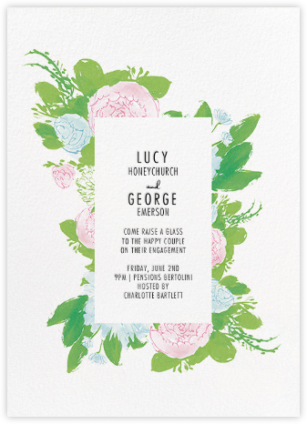 Elizabeth - Paperless Post - Engagement party invitations