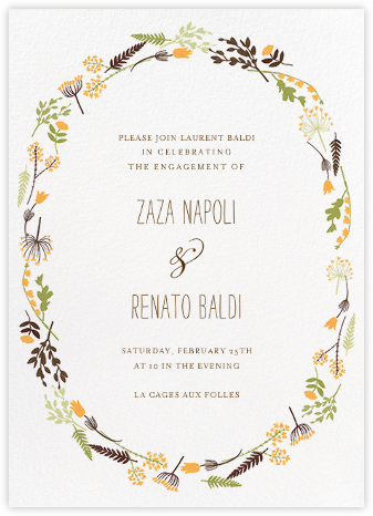 Willowmarsh - Tangelo - Paperless Post - Engagement party invitations