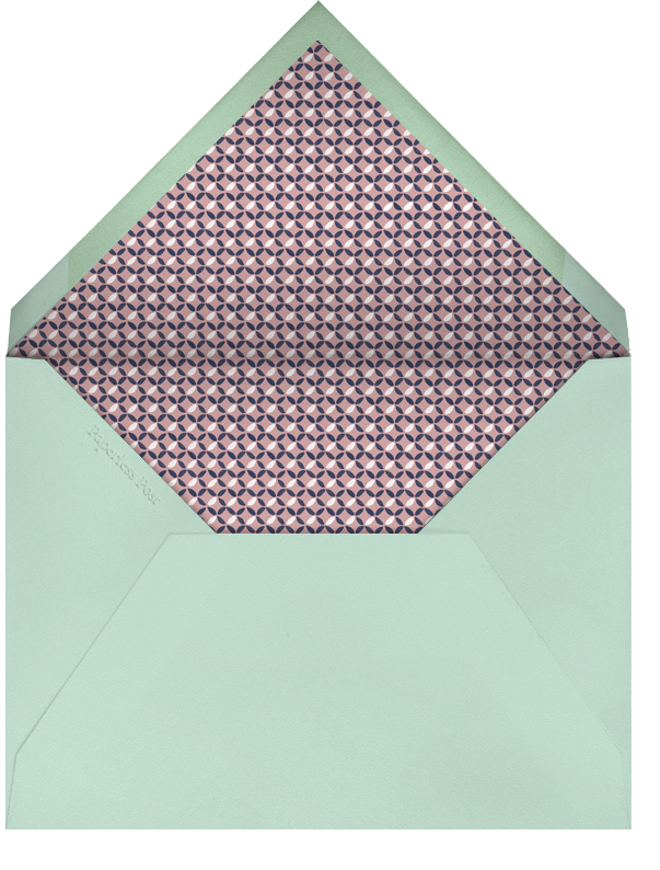 Willowmarsh - Tea Rose - Paperless Post - Engagement party - envelope back
