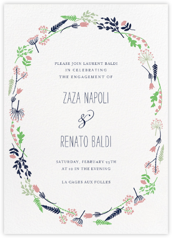 Willowmarsh - Tea Rose - Paperless Post - Engagement party invitations