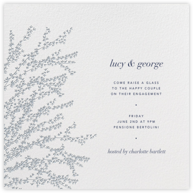 Forsythia (Pacific) - Paperless Post - Engagement party invitations