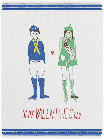 I'll Take Two Boxes of Thin Mints - Mr. Boddington's Studio - Valentine's day cards