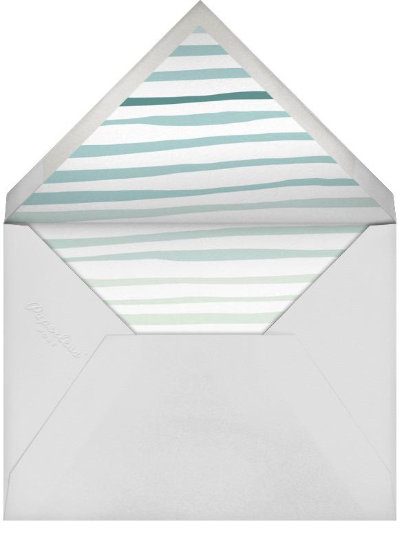 Double Hand Drawn Border - White - Linda and Harriett - Kids' stationery - envelope back